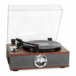 Victrola 5-in-1 Wood Bluetooth Record Player with 3-Speed Tu