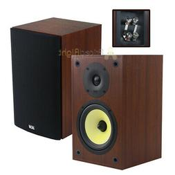 "2 Pack 6.5"" Bookshelf Home Theater Speakers 100W RMS TP160S-"