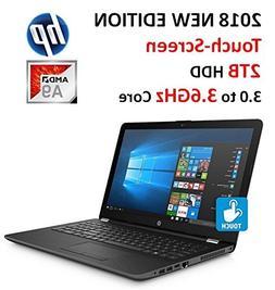 "2018 HP Premium High Performance 15.6"" HD Touchscreen Lapt"