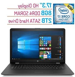 2018 High Performance HP 17.3? HD+  Display Laptop PC, 7th G