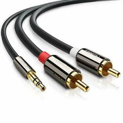 UGREEN 3.5mm to 2RCA Audio Auxiliary Stereo Y Splitter Cable