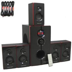 Theater Solutions TS516BT Bluetooth Home Theater 5.1 Powered