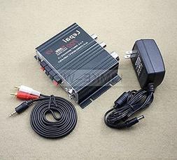 700W 12V Mini Hi-Fi Stereo Digital Amplifier mp3 iPod home +