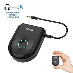 Bluetooth Transmitter,Qcute Bluetooth 4.1 Transmitter Receiv