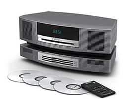 Bose Wave Music System with Multi-CD Changer - Titanium Silv