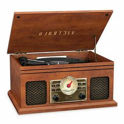 Innovative Technology ITVS-200B Turntable Entertainment Cent