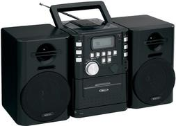 JENSEN CD-725 Portable CD Music System with Cassette and FM