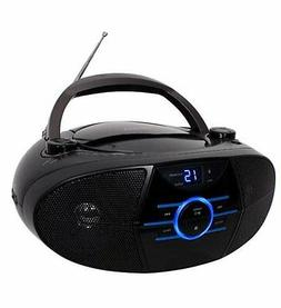 Jensen CD560 Audio CD Boombox with Bluetooth