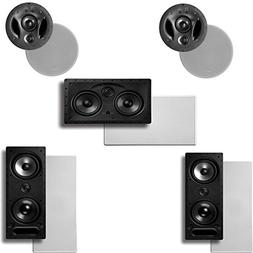 Polk Audio Vanishing LS Series 5.0 In-Wall / In-Ceiling Home