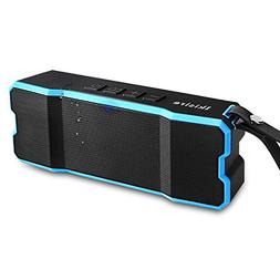 Portable IPX6 Waterproof Bluetooth Speakers 4.1 with 12-Hour