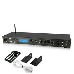 Pyle PPRE70BT Bluetooth Amplifier Receiver Sound System - Di