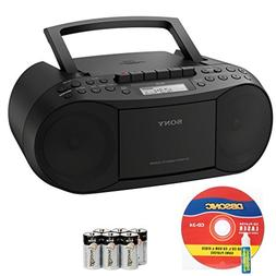 Sony Compact Portable Stereo Sound System Boombox with MP3 C