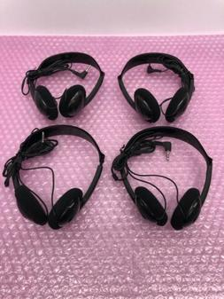 X4. GPX Stereo Headsets With Headband. 3.5mm Stereo Jack Wit