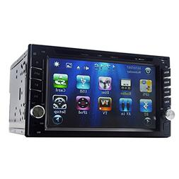 "Yody Audio Double Din 6.2"" Car DVD Player Touchscreen Blueto"