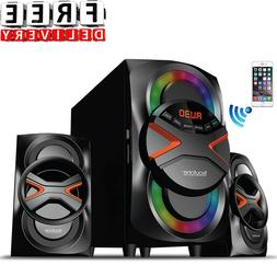 Audio System Bluetooth Home Stereo System Cabinet Music CD F