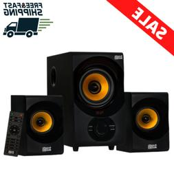 bluetooth home 2 1 speaker system