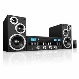 bluetooth home classic shelf stereo system cd