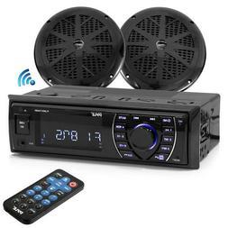 "Bluetooth Marine MP3/USB/SD AM/FM Receiver Stereo & 5.25"""