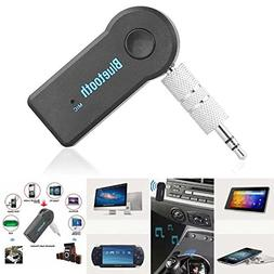 JahyShow Bluetooth Receiver, Portable 3.5mm Streaming Car A2