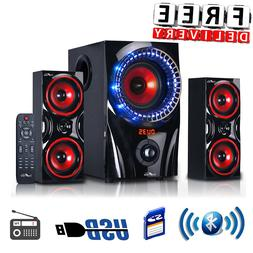 Bluetooth Speaker System Home Audio Stereo Bass Sound Gaming
