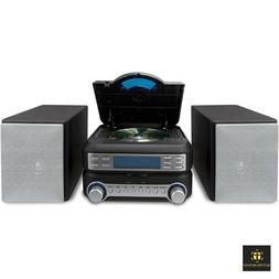 Bookshelf CD Player Stereo System Home AM FM Radio Mini Shel