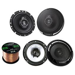 2 Pairs Car Speaker Package Of 2x KFC1795PS 660-Watt 6-3/4""