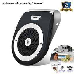 Bluetooth 4.1 Speakerphone Car Kit, TIANSHILI Wireless Hands