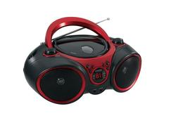 CD-490 Portable Stereo CD Player with AM/FM Radio and Aux Li