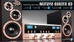 CD Stereo System Bluetooth Home Speaker Innovative Technolog