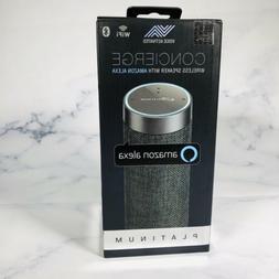 iLive Concierge Wireless Speaker With Amazon Alexa - Platinu