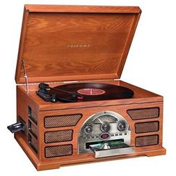 Crosley CR66-PA Rochester 5-in-1 Stereo Turntable Sound Syst