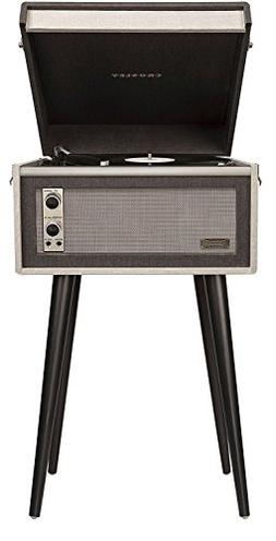 Crosley CR6233D-BK Dansette Bermuda Portable Turntable with
