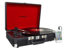 CROSLEY CRUISER 3-SPEED HOME STEREO RECORD PLAYER TURNTABLE