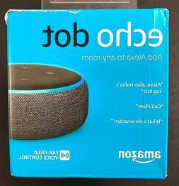 Amazon Echo Dot 3rd Generation Far Field Voice Control Charc