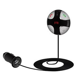 Guzack FM Transmitter Wireless Bluetooth Handsfree Transmitt
