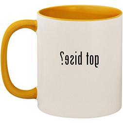 got bise? - 11oz Ceramic Colored Inside and Handle Coffee Mu