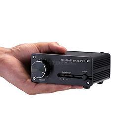 Nobsound HiFi Selector; Mini Passive Pre-Amplifier; 3-IN 2-O
