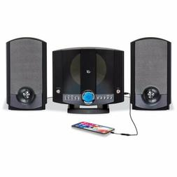 GPX HM3817DTBK Compact Disc Home System With Am/Fm Stereo Ra