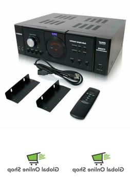 Home Audio Power Amplifier Stereo System By Pyle 3000 Watt 4