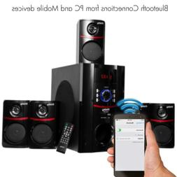 home bluetooth speaker system subwoofer receiver stereo tran