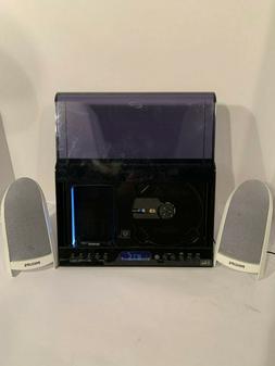 iLive Home Docking System AM/FM Stereo Radio w/ Philips Spea