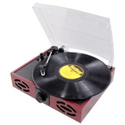 Pyle Home Durable; Reliable Turntable Black