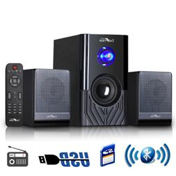 Home Entertainment System Stereo Wireless Surround Sound Spe