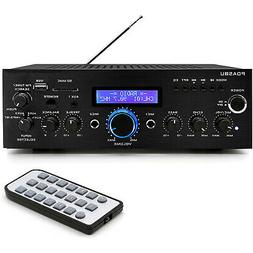 Pyle Home PDA5BU 200 Watt AM/FM AUX/USB Bluetooth Home Stere