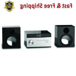 Home Stereo Music System AM FM Tuner Remote Control LCD Disp
