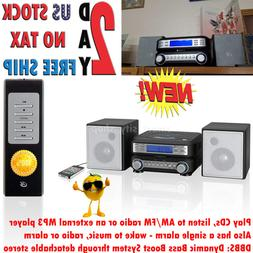 Home Stereo System CD AM FM Tuner External MP3 Player Aux In