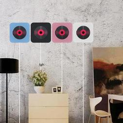 Home Stereo System Wall Mount Music CDPlayer Radio Remote Co