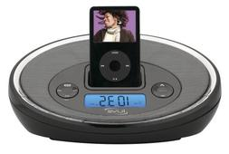 iLive ICR6307DTBLK iPod Docking System with Digital Tune AM/