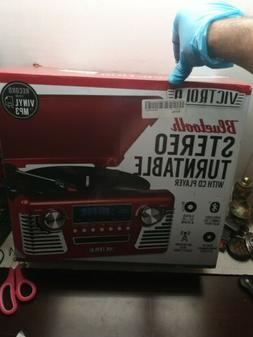 Innovative Technology INN-V50-200-RED Bluetooth Stereo Turnt