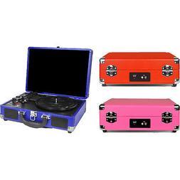 Innovative Technology ITVS-550BT 3-Speed Vintage Bluetooth S